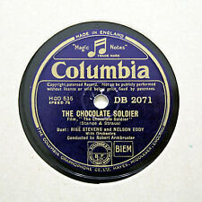 "RISE STEVENS & NELSON EDDY ""Forgive / The Chocolate Soldier"" COLUMBIA [78 RPM]"