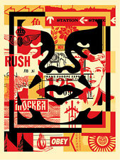 Shepard Fairey (Obey) - MILIEU + 5 stickers (OBEY)