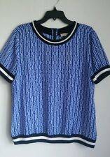 MICHAEL KORS NWT PULLOVER STYLE BANDED HEM SHORT SLEEVE.