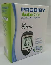 PRODIGY AutoCode Blood Glucose Meter No Coding 4 Languages  NDC# 08484-0518-85