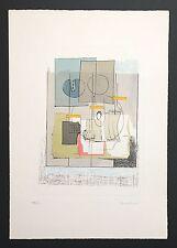 Agostino Bonalumi Litografia 50x35 cm. 60 ex. Con autentica / 01