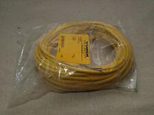 Turck WKV 4.41T-12/S529 4-Wire M12 Eurofast Cordset ID:U-02803 - 12m – NEW
