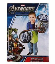 Marvel Avengers Bop Gloves Heroes 2 Piece Set Thor Hulk Iron Man Captain America