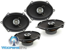 """2 sets FOCAL AUDITOR R-570C CAR 5""""x7"""" 6""""x8"""" 480W MAX 2-WAY COAXIAL SPEAKERS NEW"""
