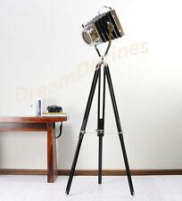 Diseñador Look Vintage Diseño 100d Spotlight Telescópica trípode lámpara de pie