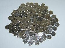 250 == NEW == STAINLESS STEEL NON-MAGNETIC SKILL SLOT MACHINE TOKENS - PACHISLO