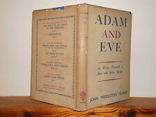 Adam and Eve by John Middleton Murry HB in DW 1945