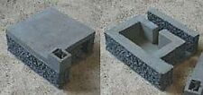 MGM 070-18 1/72 Resin WWII German Bunker Style 702 Shelter for 4 men with Tobruk