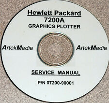 HP 7200A Graphics Plotter Service Manual