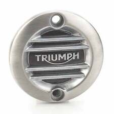 Triumph Motorcycles A9610260 Ribbed Brushed Inspection Cover
