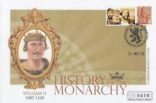 (95273) GB Mercury Cover William II History of Monarchy - Westminster Mar 2009