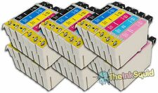 36 T0791-T0796 'Owl' Ink Cartridges Compatible Non-OEM with Epson Stylus PX700W