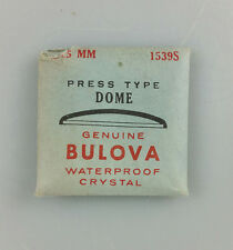 VINTAGE BULOVA PRESS TYPE DOME WATCH CRYSTAL - 28.5mm - PART# 1539S
