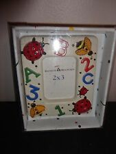"""RAINBOW MOUNTAIN LADY BUG BUTTERFLY KIDS PICTURE FRAME 2"""" X 3"""""""