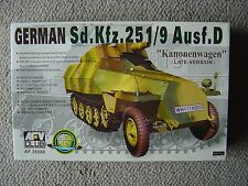"AFV Club 1/35 SdKfz.251/9 ausf.D ""Kanonenwagen"" (late production)"