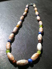 1Original Silk Road Semi-Precious Stone Beads Necklace