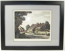 Original JACQUES MAURICE Signed Etching Barbizon France