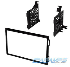 NEW DOUBLE 2 DIN CAR STEREO CD PLAYER RADIO DASH INSTALLATION MOUNTING TRIM KIT