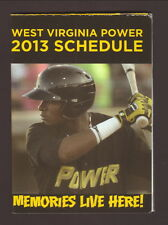 Gregory Polanco--2013 West Virginia Power Schedule--Huntington Bank