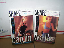 Shape Fitness Music:Cardio1 80's/90's Hits (Cassette, 1997, Right Stuff) + bonus