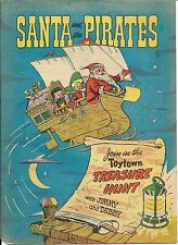 SANTA & THE PIRATES RARE GIVEAWAY PROMO 1954 PROMOTIONAL VG CHRISTMAS