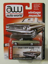 AW Auto World 1964 FORD GALAXIE 500XL CONVERTIBLE ~ Bronze ~ Release 3