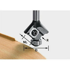 Festool 499809 2mm Router Ogee Bit for Edge Banding with Reversible Blades