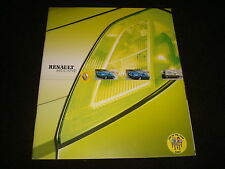 RENAULT MEGANE 3 & 5 DOOR HATCH UK SALES BROCHURE APRIL 2003 NEW, OLD STOCK