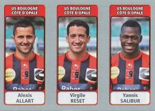 N°535 ALLART - RESET - SALIBUR # US.BOULOGNE MOUSCRON STICKER PANINI FOOT 2012