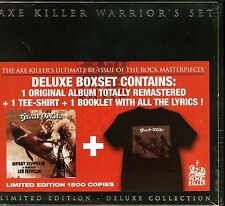 Great White Led Zeppelin Tribute Box set CD + t-shirt Warrior's Set