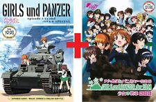 DVD Anime Girls Und Panzer Complete Series (1-12) +OVA +Movie +Der Film Eng Sub