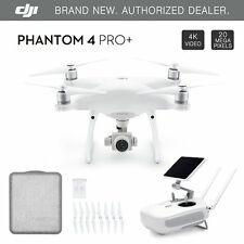 "DJI Phantom 4 PRO+ PLUS Drone 4k w/ Gimbal Camera 1080p 20MP + 5.5"" Display NEW"