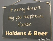 Holdens & Beer Sign - Kingswood Torana Commodore Monaro Holden Shed Tools Parts