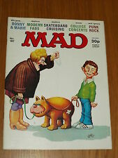 MAD MAGAZINE #197 THORPE AND PORTER DONNY & MARIE OSMOND UK MAGAZINE~