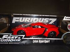 Jada Lykan Hypersport Red Fast and Furious 1/18 Furious 7