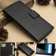 Flip Magnetic Leather ID Card Wallet Case Cover Stand For THL T6S Smart Phone 5'