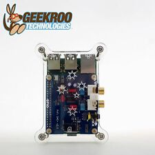 HiFi DAC+ Sound Card + Acrylic Case Kit for Raspberry Pi 2B B+|GeekrooI2S|Audio