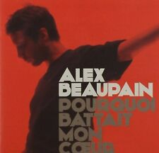 Alex Beaupain Pourquoi Battait Mon Coeur CD New Rare French Pop