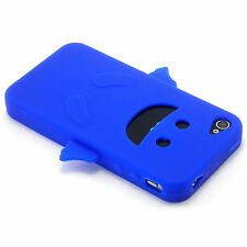 Blue Angel Happy Silicone Soft Design Case For iPhone 4 4G 4S NEW