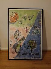 Marc Chagall - Lithograph Poster - Four Seasons, Chicago 1974