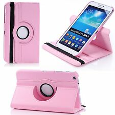360° Rotating PU Leather Stand Flip Cover Case for Various Samsung Galaxy Tablet