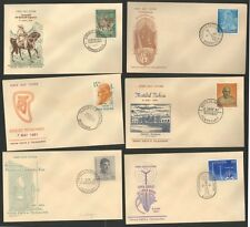 FDCYP - 035. INDIA 1961. Year Pack with 12 First Day Covers.