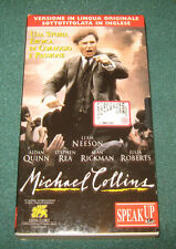 "Videocassetta/VHS "" MICHAEL COLLINS "" Versione In Lingua Or.Sottotit.In Inglese"
