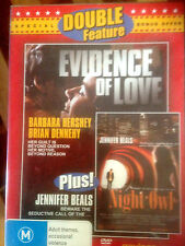 DOUBLE  FEATURE * EVIDENCE OF LOVE & NIGHT OWL  * !!! BRAND NEW  DVD !!!! *