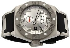 INVICTA MENS NEW  TITANIUM  SWISS 49 MM  MILITARY STYLE  I FORCE BLACK POLY BAND