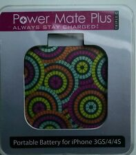 Triple Glam Power Mate Plus Portable Backup Battery iPhone 3GS/4/4S