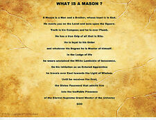 WHAT IS A MASON PERSONALIZED POEM PRAYER SPECIAL ART PRINT GREAT GIFT