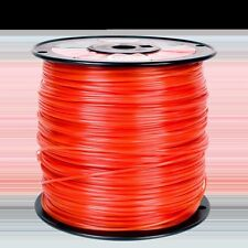 .095 5lb  Orange SquareCommercial Trimmer Line Spool Roll/Echo Redmax Stih