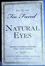 Too Faced NATURAL EYES Neutral Shadow Collection