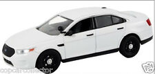 First Response 1/43 2014 Ford Interceptor Sedan Police Car - Blank White